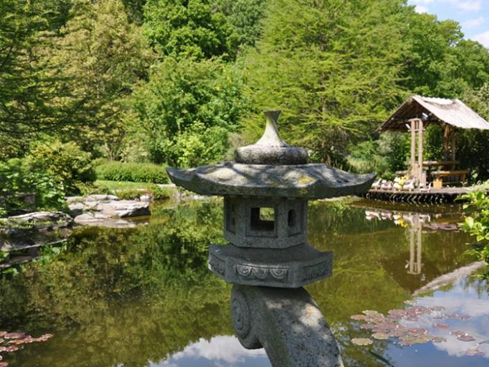 Japanische Gärten (11 Bilder)